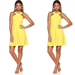 Boston Proper Yellow Dress Size XS